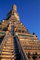 Thailand,Bangkok,Wat Arun,Temple of Dawn