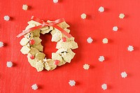 Biscuit wreath