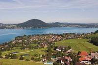 Austria, Lake Attersee, Weyregg
