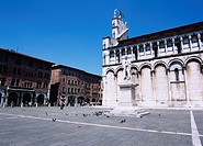 San Michele church, Lucca, Italy