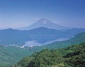 Daikanyama, Mt Fuji, Lake Ashinoko, Hakone, Kanagawa, Japan