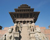 Toumade Square, Nyatabora buddhist temple, Bactabl, Nepal