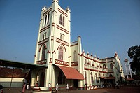 India, Kerala, Alappuzha, Alleppey, christian church