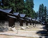 Uesugi family shrine place, Yonezawa, Yamagata, Tohoku, Japan