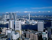 Sumida River, Harumi, Chuo Ward, Tokyo, Kanto, Japan