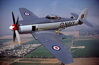 Post-World War II fighter: Hawker Sea Fury