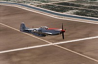 World War II US fighter: P-51D Mustang