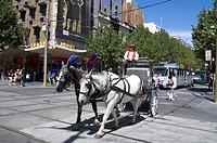 Swanston Street, Melbourne, Australia