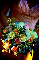vintage, retro, bouquet