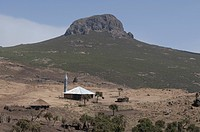 Mosque in the Bale mountains Ethiopia Africa