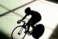 Track cycling race
