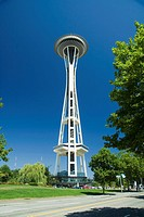 Space Needle, Seattle, Washington, USA, America
