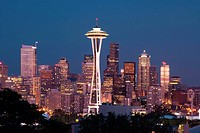 Seattle skyline from Kerry Park, Washington, USA