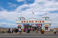 Grand Pier, Weston_super_Mare, Somerset, England, United Kingdom, Europe