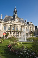 The Town Hall in the City of Tours, Indre et Loire, Loire Valley, Centre, France, Europe