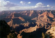 geography / travel, USA, Arizona, Grand Canyon National Park, landscapes, view from the vantage point / view point Powell Memorial Point on South Rim,...