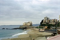 geography / travel, Chile, Vina del Mar, beach, 1964, historic, historical, South America, 20th century, 1960s, SOAM,