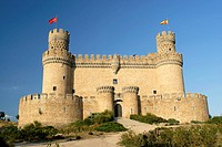 Castle of Manzanares el Real, Madrid, Spain