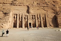 Temple of Hathor, Abu Simbel, Egypt