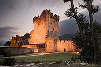 Ross Castle at the Killarney National Park, Killarney, Kerry, Ireland