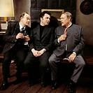 TV series, Das Familienfest, DEU 1973, director: Ludwig Cremer, scene with: Fritz Strassner, Gustl Weishappel, Alexander Golling, movie, broadcast, te...