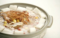 Chinese herbal fondue