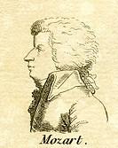 Mozart, Wolfgang Amadeus, 27.1.1756 _ 5.12.1791, Austrian composer, portrait, engraving, 18th century, musician, Austria,
