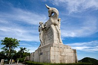 Asia, China, Hainan Island, Luhuitou, statue