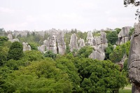 Shilin Stone Forest near Kunming, China