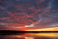 Sonnenuntergang Florida Everglades NP