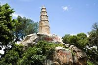 Wentai Pagoda in Jincheng Town, Kinmen County, Taiwan
