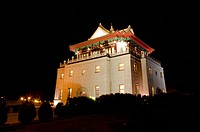 Juguang Tower in Jincheng Town, Kinmen County, Taiwan