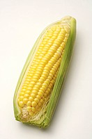 Close_up of a sweet corn