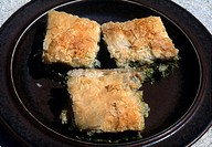 Greek Food Spanokopita Filo Pie Cheese &amp; Spinach
