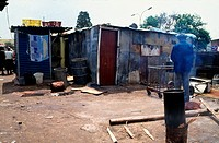 Shack, Squatter camp, Alexandra, Gauteng, South Africa