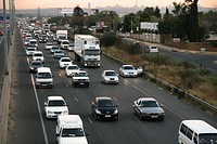 N1 North rush_hour, Johannesburg, Gauteng, South Africa