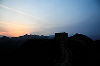 Sunrise at Jinshanling Great Wall, Hebei Province, China