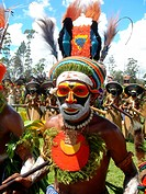 Papua Neuguinea _ Hochlandfestival _ Krieger