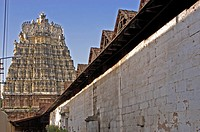GOPURAM OF SRI PADMANABHA SWAMY TEMPLE, THIRUVANANTHAPURAM
