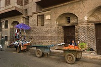 store in front of a Ramadan House, Rosetta, Egypt