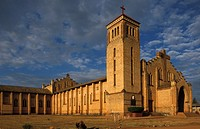 The Roman Catholic cathedral, built in the 1930s is the largest in the country, Butare, Rwanda