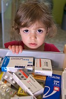 Little girl medication danger