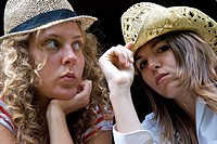 Teenage girls hats
