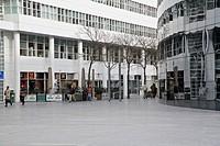 HV765621 Moderne Architektur am Spui Plein im Zentrum von Den Haag