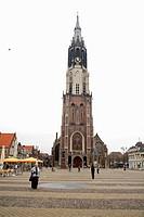 HV765662 Nieuwe Kerk am Marktplatz in Delft