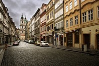 St  Nicholas church, Mala Strana, Prague, Czech