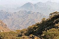 Asien, Jemen, Bergregion, Benni Murra