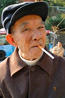 January 2006, An elderly man in China Asia.  Agent 109 AAP Image/David Ewing NO ARCHIVING