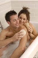 Couple bathtub