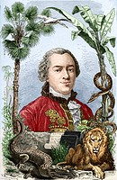 Comte de Buffon 1707_1788, French naturalist. Georges Louis Leclerc, Comte de Buffon, was keeper of the French botanical gardens, and published the fi...